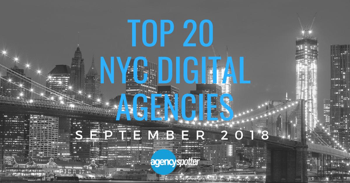 New September 2018: New York City's Top 20 Digital Agencies