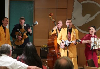 The Jives performed at the Church of Scientology Seattle