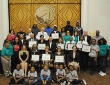Drug-Free World Community Crusaders Awards April 17, 2017, at the Church of Scientology Buffalo
