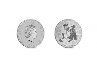 Scrooge McDuck Coin Front and Back