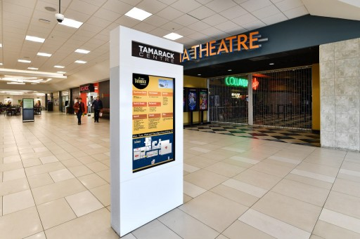 Mvix Digital Signage Improves Customer Experience at Tamarack Centre
