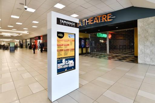 Mvix Digital Signage Improves Customer Experience at Tamarack Centre