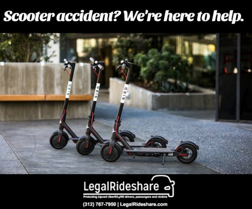 Scooters (And Accidents) Are Here to Stay, LegalRideshare Breaks Down Why