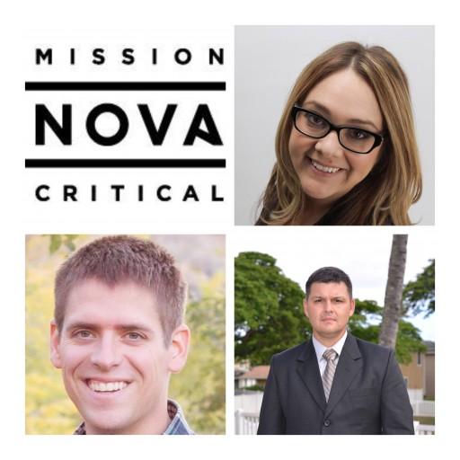 "NOVA Mission Critical Announces Three More ""Veteran"" Additions to the Lineup!"