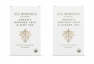 Premium Organic Moringa Leaf Herbal Tea USDA Certified 28 Tea Bags