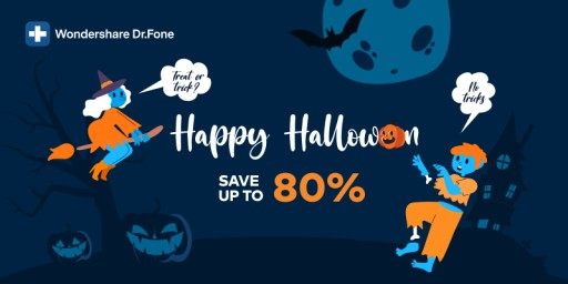 Wondershare Just Launched Dr.Fone Halloween Sale