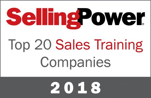 Selling Power Features the Brooks Group on 2018 Top 20 Sales Training Companies List