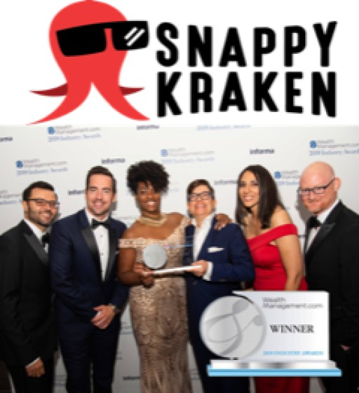 Snappy Kraken Named WealthManagement.com 2019 Industry Awards Winner