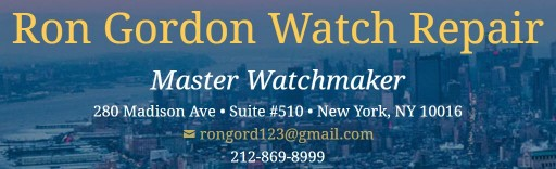 Post on Watch Magnetism and Rolex, Omega & Tag Heuer Repair in NYC Announced by Ron Gordon Watch Repair