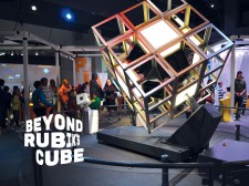 Beyond Rubik's Cube Exhibition