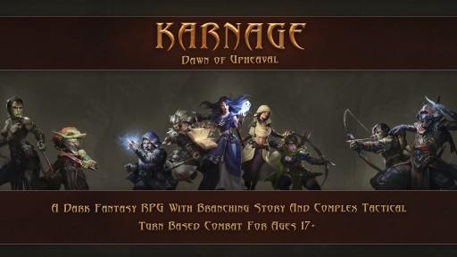 Re-Roll Entertainment Takes Karnage to Kickstarter!