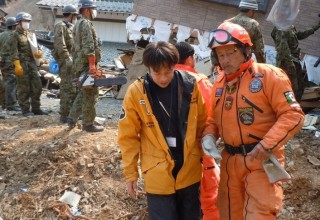 Volunteer Ministers responded to the 2011 Japan earthquake and tsunami.