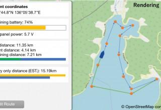 Unmanned Autonomous Navigation