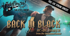Wildflower! Arts & Music Festival Salutes Rock with Back In Black AC/DC Tribute Virtual Concert