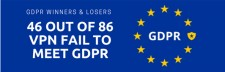 46 out of 86 vpn fail to meet gdpr