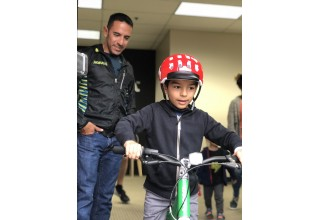 Leo Manzano Mile woom bikes kids ride (Saturday, starting 11:45 a.m.)