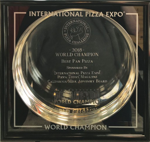 Upper Crust is the 2018 World Champion for Its Ultimate Pan Pizza
