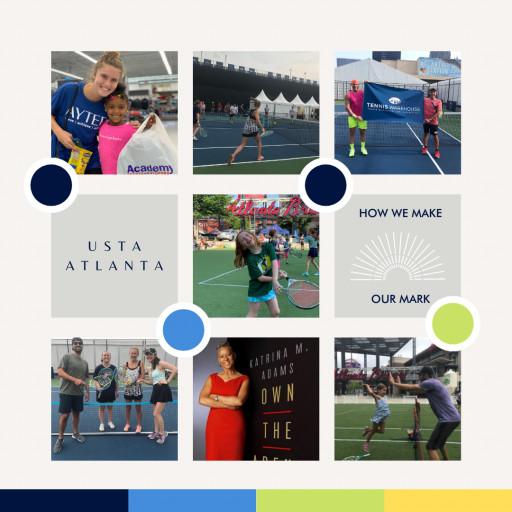 USTA Atlanta Makes Its Mark in the Community at Truist Park