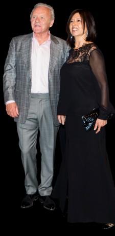 Stella and Anthony Hopkins
