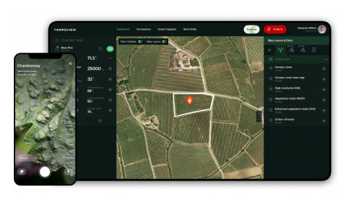 Terraview®, the World's Most Powerful OS for the Wine Industry  Accelerates Global Expansion and Unveils Breakthrough Features for Tackling Climate Change