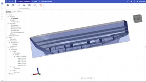 HOOPS SDKs Power Industry's First Ship Information Modeling Platform