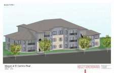 Rendering of Mission Trail at El Camino Real