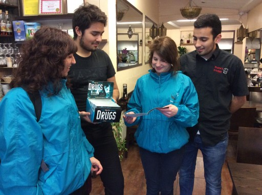 Drug Free London Volunteers Campaign for a Cleaner, Safer Neighbourhood