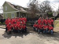 Rio Grande Fence Co. of Nashville Employees at Mending Hearts, Inc.