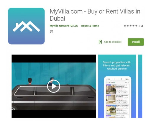 MyVilla.com: Approaching Smart Phone Users in Dubai