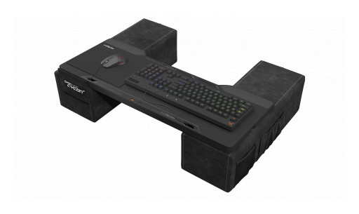 nerdytec Launches New Gaming Lapdesk, the Couchmaster® CYCON2