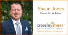 CrossleyShear Wealth Management's Shaun Jones Promoted to Financial Advisor