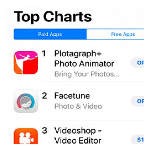 New Plōtagraph+ App Takes Number 1 Spot