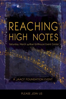 Reaching High Notes Dinner Gala to Benefit Judith Adele Agentis Charitable Foundation