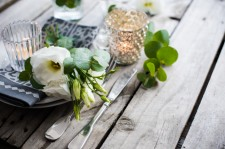 Simple Soy Candle Co. Wedding Table