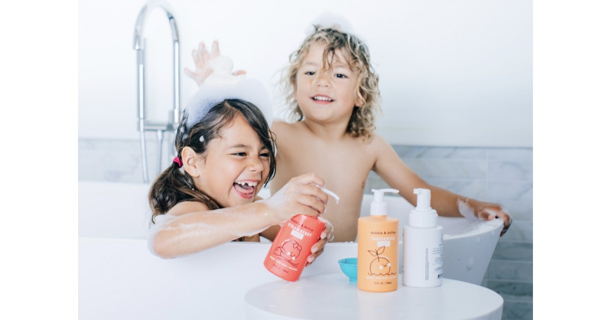 One Bubbly Concoction: Dabble & Dollop Launches Its Children's 3-in-1 Bubbles, Body Wash and Shampoo Starter Kit