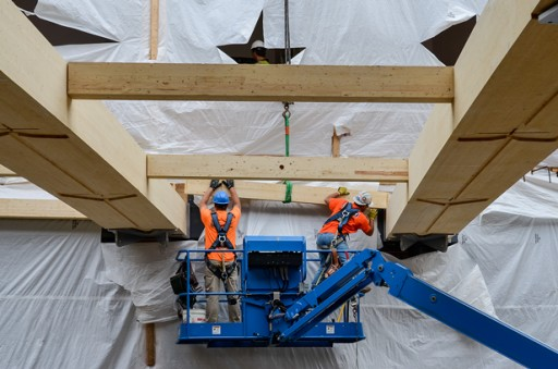 WoodWorks and the Chicago Regional Council of Carpenters Apprentice and Training Program Partner to Deliver Mass Timber Installer Training