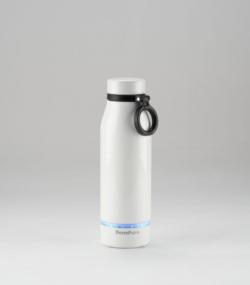 Self-Tracking and Self-Cleaning Water Bottle BenePure to Soon Debut on Kickstarter