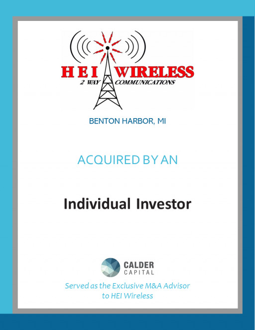 HEI Wireless Acquired by an Individual Investor