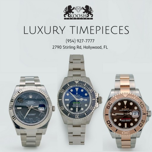 Koosh Jewelers Offers Luxury Jewelry and Timepieces to the Hollywood, Florida Area