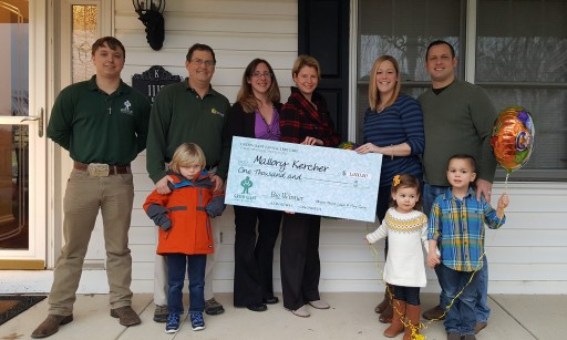 Green Giant Lawn Care Announces $1,000 Gift Certificate Photo Contest Winner