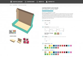 Right Mailers Has Been Integrated Into the Packaging Company's Custom Boxes Online Design Editor