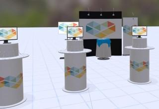 Strata Spaces VR - exhibit design