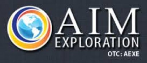 AIM Exploration Receives Letter of Intent From Prina Energy to Purchase 500,000 Metric Tons of Coal From AIM's Coal Mine Located in Peru