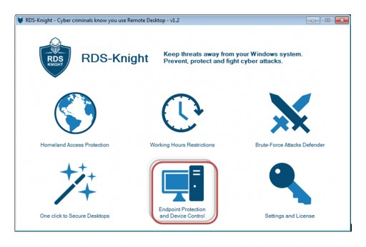 RDS-Knight Controls Device Access to Protect Sensitive Data
