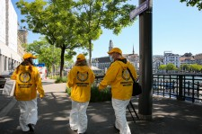 Throughout Switzerland from Lausanne to Zurich, Scientology Volunteer Ministers are helping their communities stay well