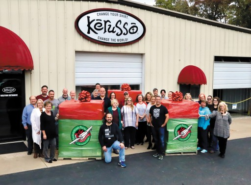 Christian Apparel Company Supports Operation Christmas Child