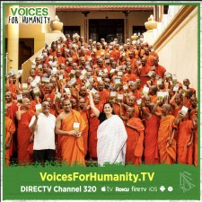 Voices for Humanity, featuring the work of activist Naseema Qureshi