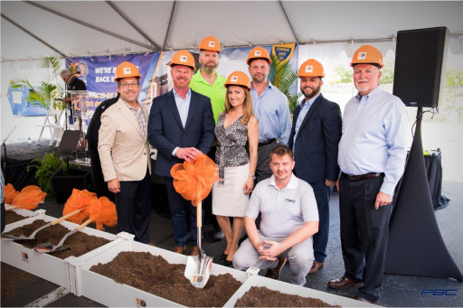 Precision Building Construction, LLC Celebrates Groundbreaking Ceremony for New Orlando Regional Realtors Association HQ