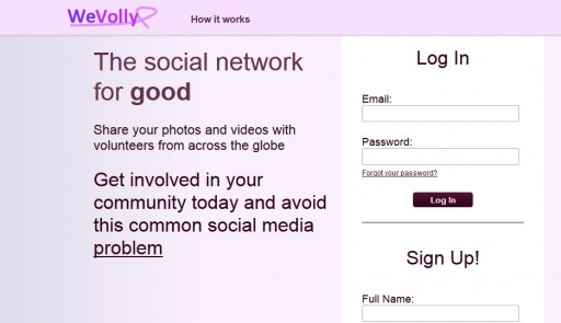 Connect With Others on WeVolly, a New Social Network for Volunteering