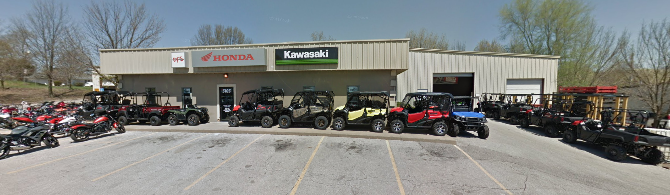Honda Dealership Kansas City >> Kansas City Suburb Honda Kawasaki Dealership In Business